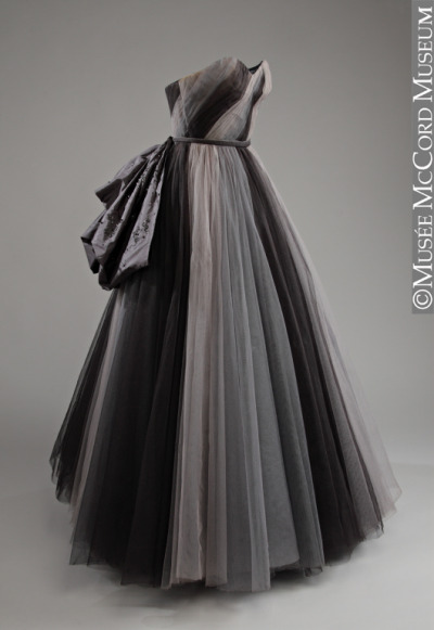 omgthatdress:  Dress Digby Morton, 1954 The McCord Museum
