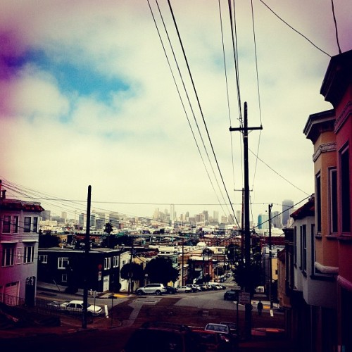Potrero Hill. (Taken with Instagram at Whole Foods Market)