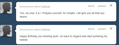 WHAT. WAIT. WAIT WHAT. I'M ABOUT TO CRY. LOKI. PREPARE. PREPARE- PREPARE MYSELF? HELMETS? WHAT.