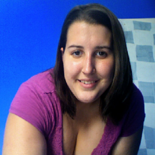 "This is me. No make up, just a new haircut that day, and a happy person. I am an emotional person. However, you wouldn't know this unless you read my blog or are a very close friend of mine. I always have this positive outlook on life, and I always look at the glass as half full. I also take things people say with every possible intention; so if my ex would say to me, ""I love your thighs. They're like big pillows,"" I would silently sit there and think of how large my thighs are, how poochy my stomach is, and how I would love to be a different size. I know that's not healthy, but I couldn't help myself. I don't think I have ever not indulged this thought process, but that is starting to change. My cousin (who is my rock) has been my personal trainer at the gym, and I already feel so much better about myself. For me, going to the gym is something for me, and no one else. I just want to feel comfortable in my own skin. I am only 20 years old, but I have had a lot of time to think about why it is that I think less of myself, and why so many wonderful, amazing, and beautiful people in the world think they are not worthy of love and attention. My conclusion is that while people who are in the limelight are beautiful in their own ways, everyone forgets to love and appreciate their own bodies. It is with complete honesty that I thank the media for this warped vision of what ""healthy"" and ""beautiful"" means. If it wasn't for the media, we wouldn't have a need for such a wonderful blog and amazing people in the world getting together and cherishing all that we have been blessed to have. BE BRAVE! JOIN THE BODY PEACE REVOLUTION! PS If you ever need someone to talk to, feel free to message me here."