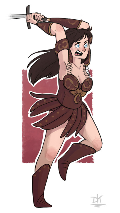 Xena! Just because she's the best.