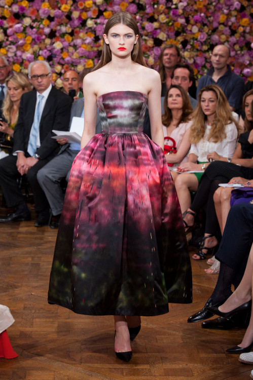at christian dior haute couture fall/winter 2012