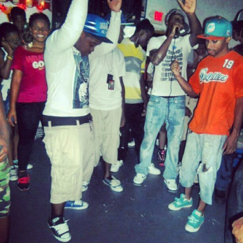 Me And My DTF Niggas And My Nigga DJ Ghost Was Live That Night  (Taken with Instagram)