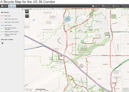Share the link to the new BikeLinks 36— an interactive Westminster-Boulder bike map.