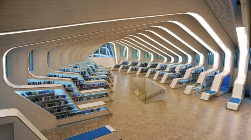 Vennesla Library and Culture House in Norway