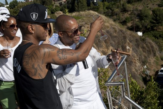 SPOTTED:  TREY SONGZ + KEVIN LILES at KL's Mansion in the Hollywood Hills during BET Awards Weekend (CA). I have such a strong respect for Mr. Liles! Follow him @KevinLiles1! xo @RozOonTheGo