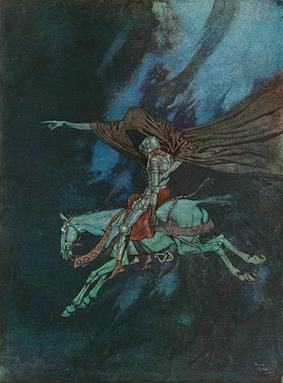 omercifulheaves:   Art by Edmund Dulac    some days you're the ____ and others you're the ____