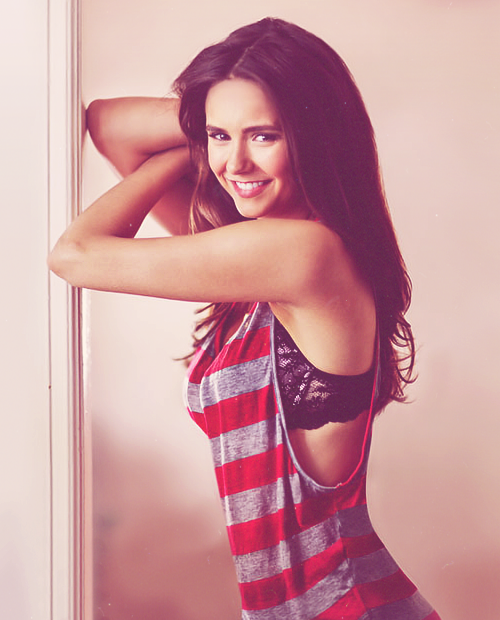 Nina Dobrev | Esquire Magazine (Aug 2012)