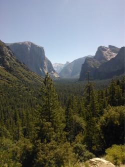 Just got back from Yosemite and WOAH, what a beauty! I took this photo from my phone, but will probably spam the hell out of you guys for a day or two once we get the Nikon back. In short, put Yosemite on your bucket list ASAP.