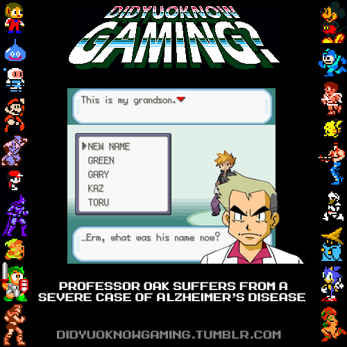 Professor Oak.