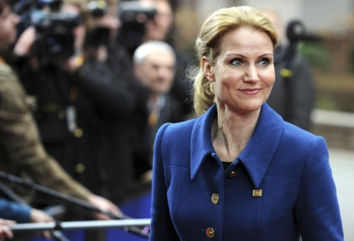 Photo of the Day: Helle Thorning-Schmidt, Prime Minister of Denmark Click here to watch her speech to the EU following an agreement between European heads of state for a 'growth and jobs compact'. Denmark recently wrapped up its six month presidency over the European council.  Click here to learn more about Helle Thorning-Schmidt.