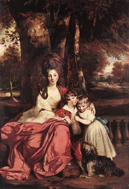 Lady Elizabeth Delmé and her Children, Sir Joshua Reynolds, 1779