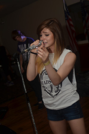 Chrissy Costanza of Against the Current at Jersey Stock! More pictures here~ Against the Current Facebook, Twitter