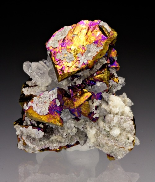 Chalcopyrite with Quartz from Colorado by Dan Weinrich