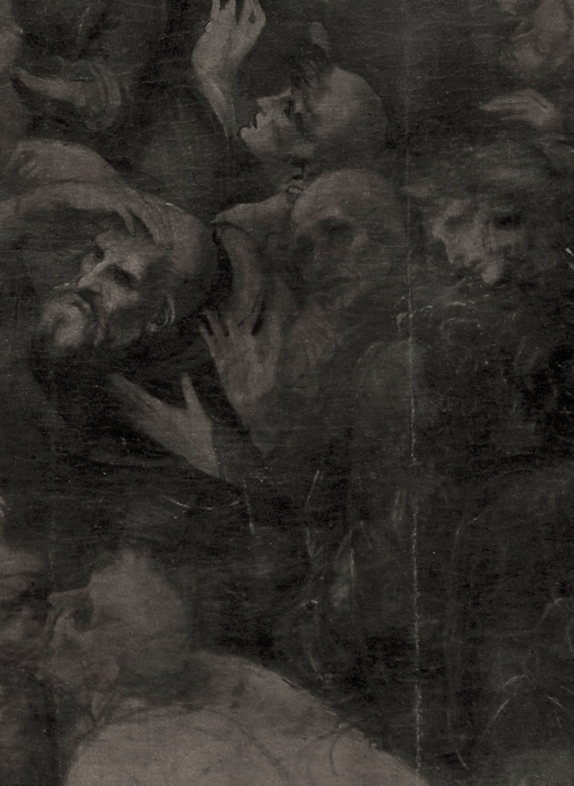 lesodeurs:  Leonardo, Adoration of the Magi (detail), c. 1481-82