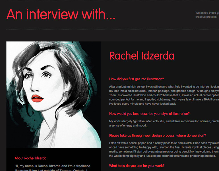 I was also recently interviewed by The Artfuls, which you can read here!