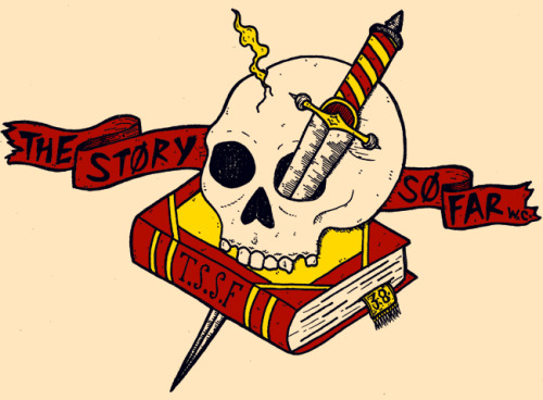 New tee design for The Story So Far. I'm sure you'll be be able to get your hands on it soon enough.
