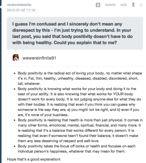 stophatingyourbody:  randomlancila:  Rebloggable version!  This is important enough that I thought it belonged here!