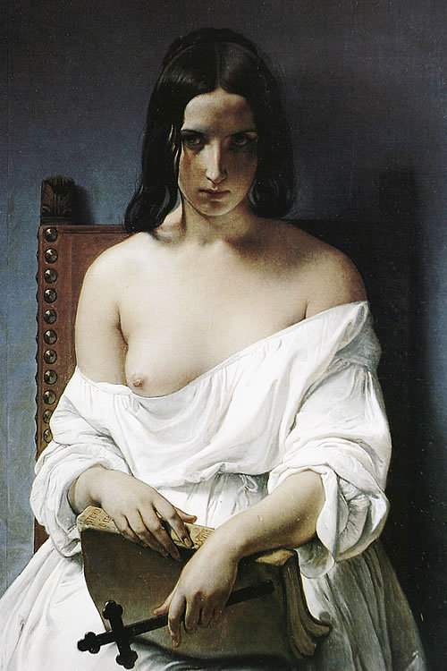 ablastes:  Francesco Hayez. Meditation on the history of Italy.