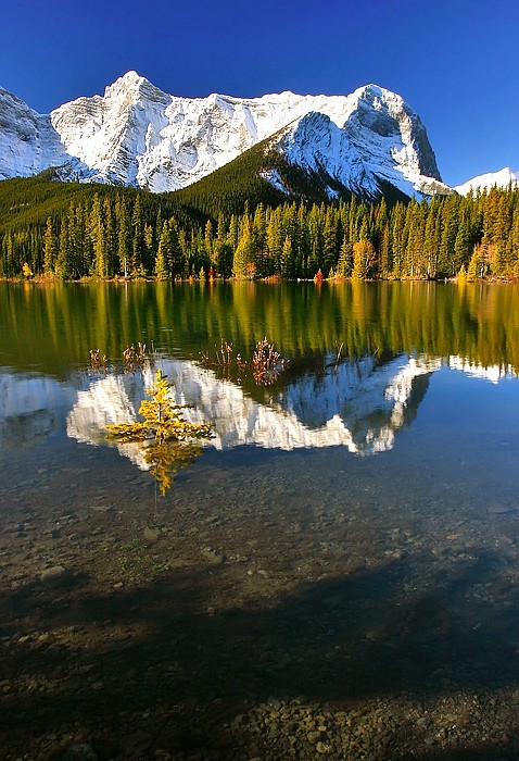 bluepueblo:  Upper Lake, Kananaskis, Alberta, Canada photo via besttravelphotos