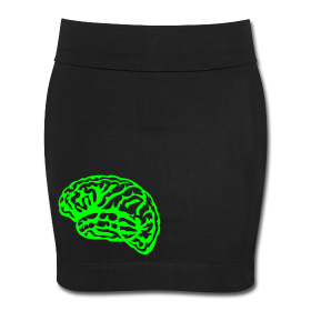 (via Brains Mini Skirt | Slick & His Ruin)