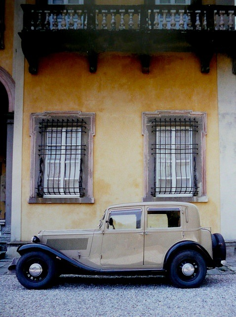 "| ♕ |  Lancia Augusta ""flat rad"" Saloon - some Italian village photo by © aureliab24 — revival from my very old post."