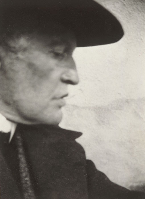 Edvard Munch, Self-Portrait with Hat (Right Profile) at Ekely, 1931