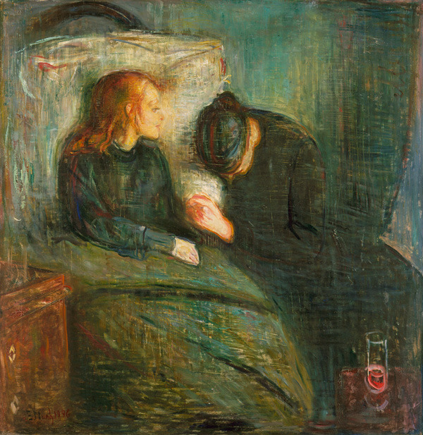 Edvard Munch (Norwegian, 1863-1944), The Sick Child, 1896