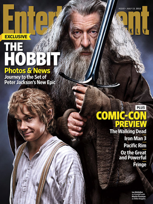 entertainmentweekly:  This Week's Cover: 'The Hobbit' — plus our annual Comic-Con preview