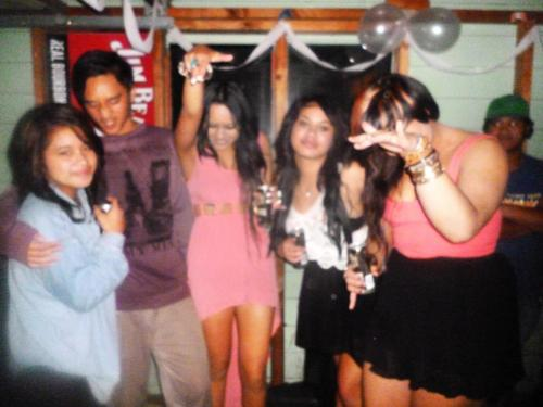 Casually partying, because it's 2012 :-)