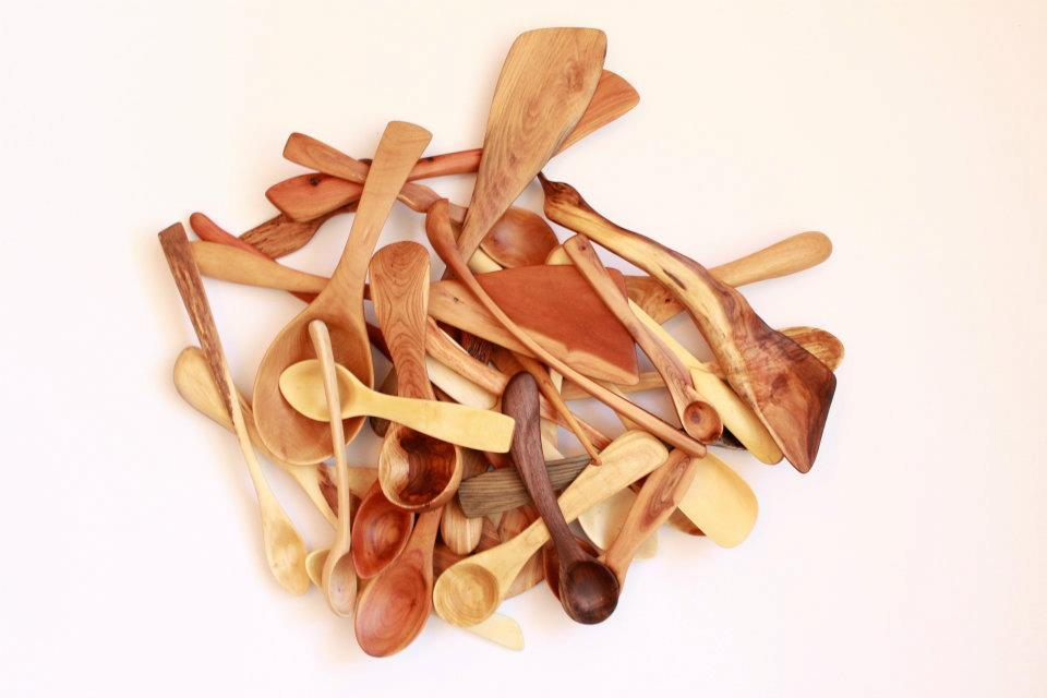 Calling all cooks, these TwoRibka kitchen spoons are all handcrafted here in Toronto and are made of locally salvaged wood. Spoons, spatulas and other wooden utensils and are all avaiable at the Mutts & Co. Variety Store starting this week.  Shop Hours: 11a-9pm, July 4th-8th.
