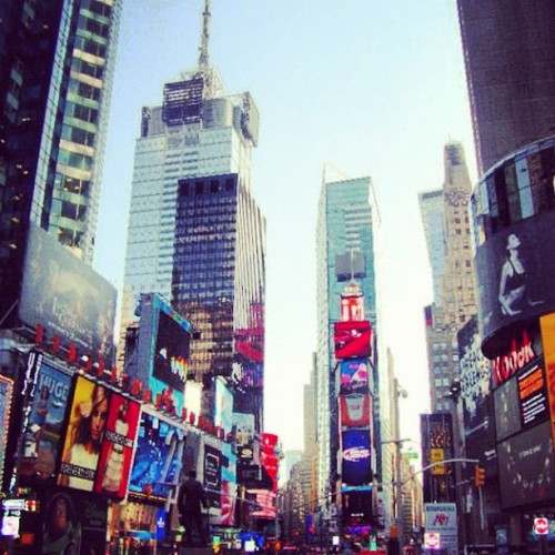 Times Square August 2010 (Taken with Instagram)