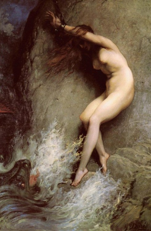 Gustave Doré, Andromeda, 1869. Oil on Canvas.