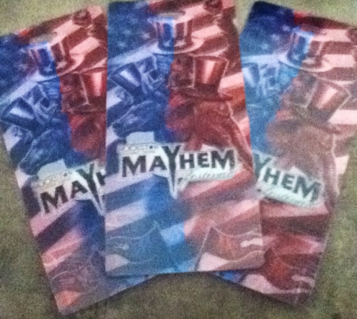 Mayhem Fest tickets arrived today! Come at me bro!