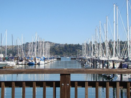 condenasttraveler:  Photos from the Road | Sausalito Yacht Harbor, California
