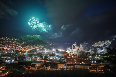 Photo from my hometown in Newfoundland on Canada Day. Touches a particular place in my coastal heart.