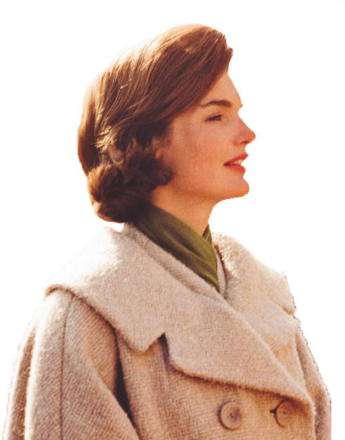 "kennedydynasty:  The 'Jackie' look.  Classic, simple tailoring, with an emphasis on what Oleg Cassini described as ""sumptuous fabric, unusual color and distinctive details""…"