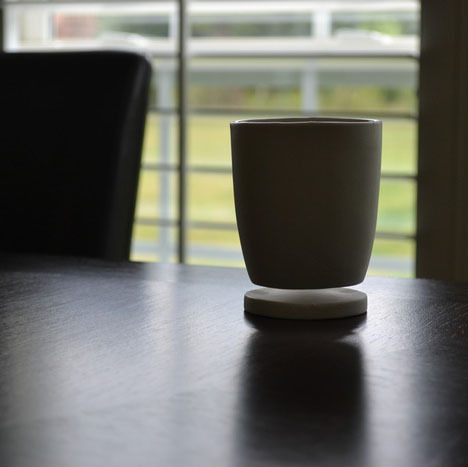 handa:  Core77 - Tigere Chiriga's No-Coaster-Necessary Floating Mug