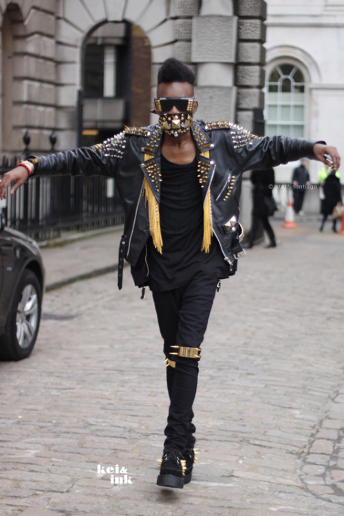 """Studs, Spikes and Attitude"" London Fashion Week A/W 2012"