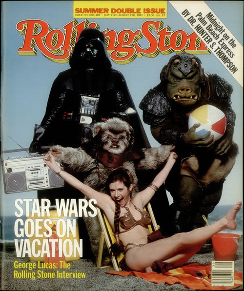 eats-rags:  Star Wars Rolling Stone Cover, 1983
