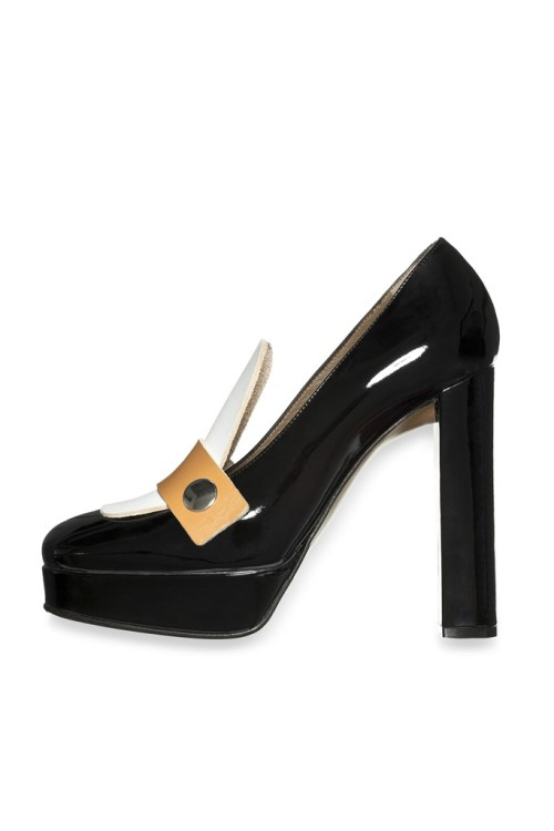 Marni - resort 2013 high heel loafer