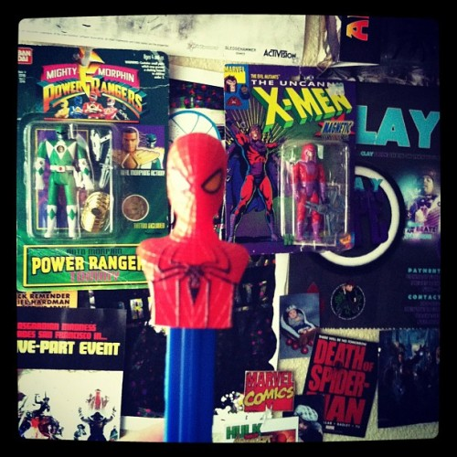 #pez #spiderman #marvel #amazingspiderman (Taken with Instagram)