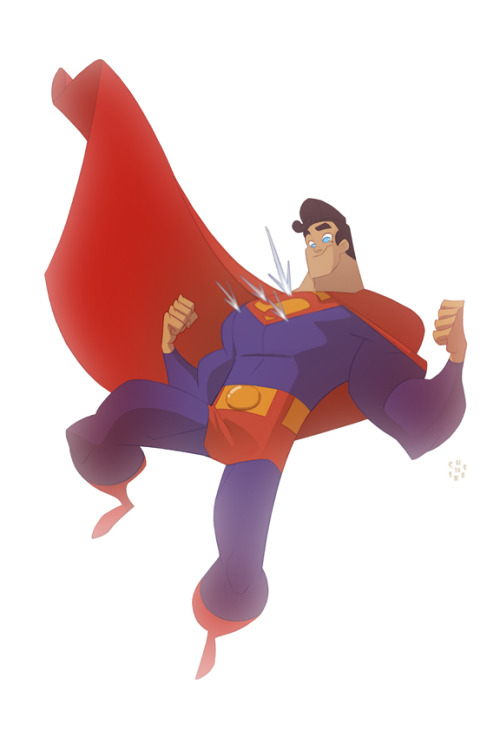 Superman by `cheeks-74