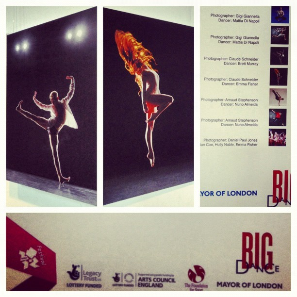 Dance in Focus exhibition @ City Hall, London (Taken with Instagram)