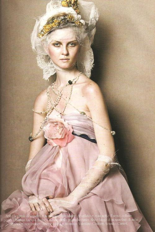 Couture Magic - Steven Meisel, Vogue Italia