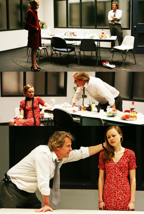 Jeff Daniels and Alison Pill in Blackbird by David Harrower (Manhattan Theatre Club, 2007)