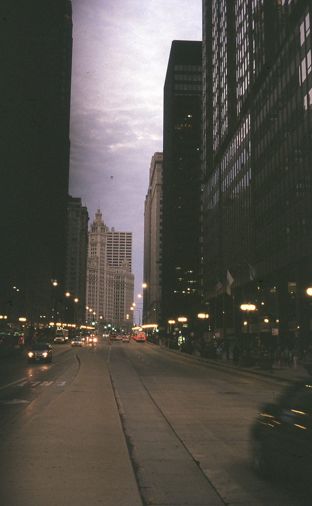 refluent:  Chicago on Expired Film Velvia 100 (by bavan.prashant)