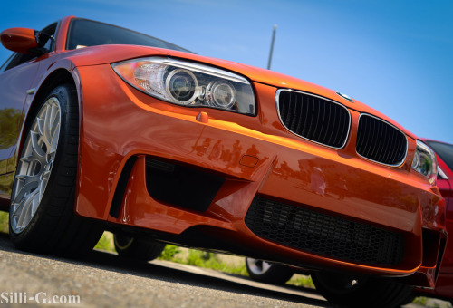 carpr0n:  Fresh Orange Starring: BMW 1-Series M-Coupe (By sillig)