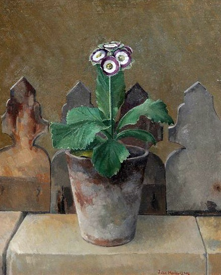 John Morley Green Edged Auricula - Minley Manor  2006