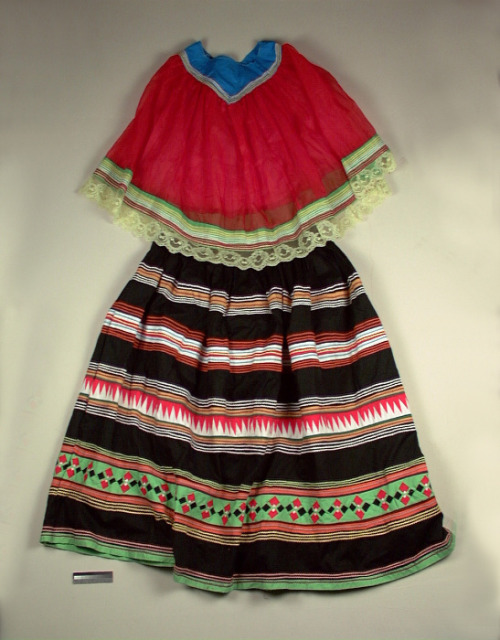 Ruby Billie (Seminole) Woman's Skirt and Cape 1970